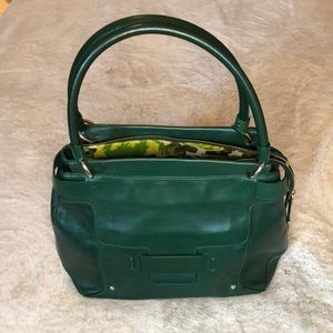 Kate Spade Vintage Forest Green Satchel ♠️